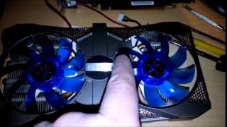 getlinkyoutube.com-Graphics card fan replacement. Tech tips.