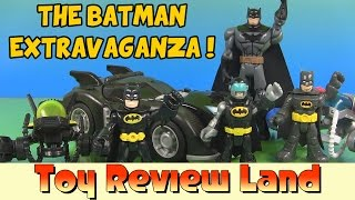 getlinkyoutube.com-Imaginext Batman Extravaganza with Joker, Harley, Superman, Spongebob, Cinderella, and Many More!