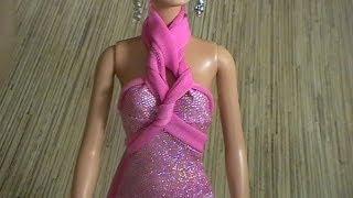 getlinkyoutube.com-как сшить платье для куклы    how to make dress for doll