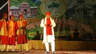 getlinkyoutube.com-Garhwali holi geet sandhya with narendra singh negi ,mayur vihar 3
