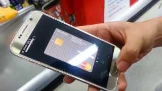 getlinkyoutube.com-삼성페이로 결제하기 how to pay with Samsung Pay (삼성페이 사용후기)
