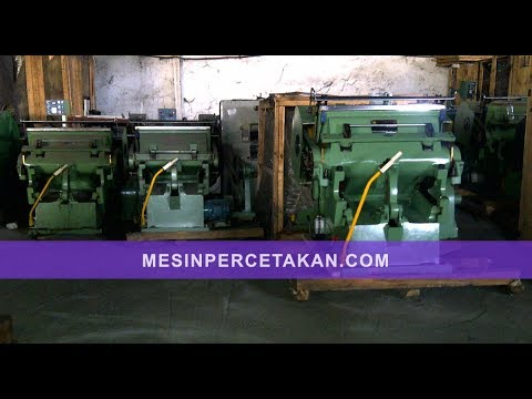 Mesin Pond Cara Kerja | Die Cutting Machine ML-750