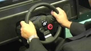 getlinkyoutube.com-Logitech Driving Force GT Racing Wheel review for PC