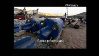 getlinkyoutube.com-Chile Miners Rescue - The Story (2/3) - Capsule raises trapped men to surface -