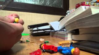 getlinkyoutube.com-china 닌자고 로이드 레고 짝퉁 피규어 장난감을 구입해서 조립하는 아이