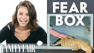 Mila Kunis, Kristen Bell, and Kathryn Hahn Touch a Millipede & Other Weird Stuff | Vanity Fair