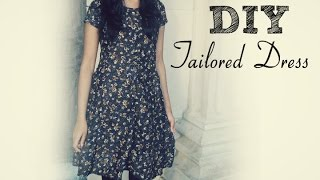getlinkyoutube.com-✄ DIY: How to sew a dress without a pattern ✄