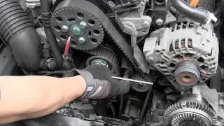 getlinkyoutube.com-VW Audi TDI pumpe duse PD TDI engine timing belt tensioner trick