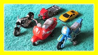 getlinkyoutube.com-Toys For Children, Hot Wheels Motorcycles! Do not miss this amazing video for kids by JeannetChannel