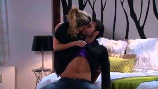getlinkyoutube.com-Corazon valiente - Samantha le de un golpe a Willy