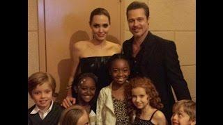 getlinkyoutube.com-Angelina Jolie With Her Family
