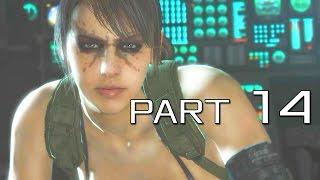 getlinkyoutube.com-Metal Gear Solid V: The Phantom Pain Walkthrough Gameplay - Part 14 - QUIET