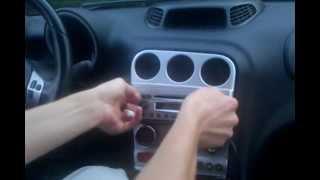 getlinkyoutube.com-Alfa Romeo 156 demontaż radia / car stereo removal