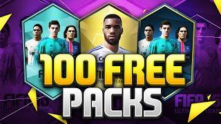 getlinkyoutube.com-100 FREE PACKS!!! Fifa 16 Pack Opening