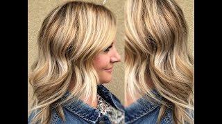 getlinkyoutube.com-Base Hair Coloring Blending Line of Demarcation   No More Brassy Hair  Sombre & Olaplex