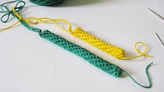 getlinkyoutube.com-Crochet || Cara Membuat Spiral Rope - Spiral Rope for Bag Handle etc