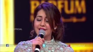 getlinkyoutube.com-Rashi Khanna singing @ SIIMA 2015  Oohalu Gusagusalade