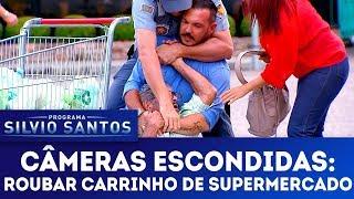 Roubar Carrinho de Supermercado | Câmeras Escondidas (25/02/18)