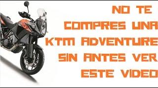 Opiniones KTM 1050 Adventure