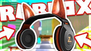 HOW TO GET THE BEAST HEADPHONES | ROBLOX Explore the City & Build