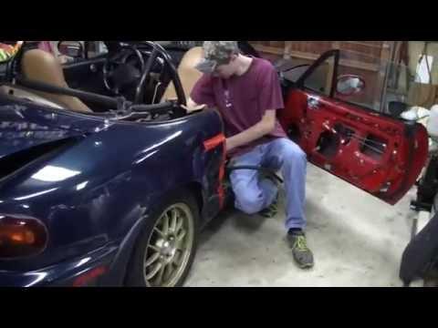REAR QUARTER PANEL & DOOR REPAIR (Part 3)