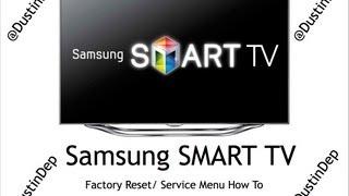 getlinkyoutube.com-Samsung Smart TV Service Menu / Factory Reset How To LED 8 Series