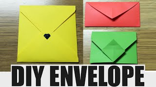 getlinkyoutube.com-How to make an envelope - DIY paper envelope