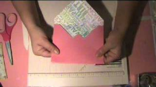 getlinkyoutube.com-HOW TO MAKE A CUSTOM ENVELOPE with MARTHA STEWART SCORE BOARD