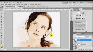 getlinkyoutube.com-Como transformar foto em desenho no Photoshop