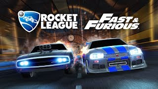 Rocket League - Fast & Furious DLC Trailer