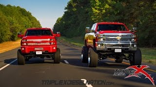 getlinkyoutube.com-2015 DURAMAX HD'S SNAPPIN NECKS!!