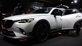 getlinkyoutube.com-(4K)MAZDA CX-3 RACING CONCEPT 2015 - Osaka Auto Messe 2015 大阪オートメッセ2015・マツダCX-3