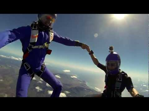 Skydiving in Paradise - February 2013 - All GoPro Hero3 footage.