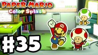 getlinkyoutube.com-Paper Mario: Color Splash - Gameplay Walkthrough Part 35 - Green Energy Plant 100%! (Nintendo Wii U)