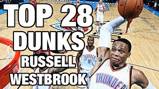 getlinkyoutube.com-Russell Westbrook TOP 28 Dunks To Celebrate His 28th Birthday!