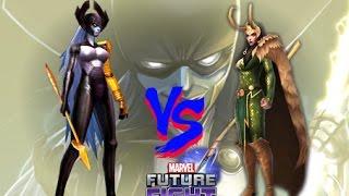 MARVEL FUTURE FIGHT - World Boss - Proxima Midnight VS Loki, Thor, Groot Thors