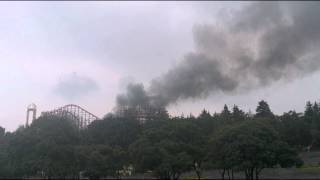 getlinkyoutube.com-¡Incendio! en Six Flags México 8 de Junio 2014