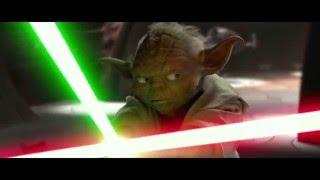 getlinkyoutube.com-Yoda vs Dooku fight edit comparison