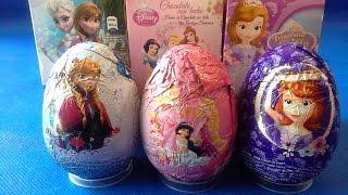 getlinkyoutube.com-Huevos Sorpresa de Princesita Sofia, Disney Princesas y Frozen en español  |JuguetesYSorpresas