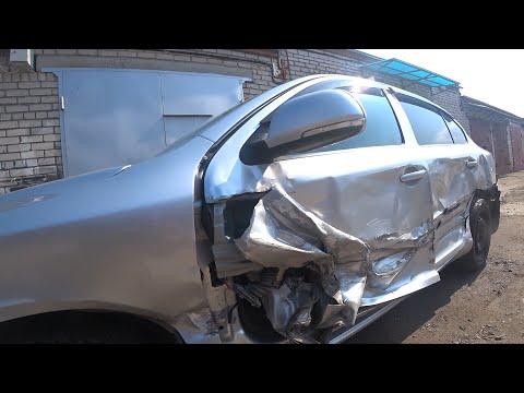 91 (Skoda OCTAVIA 2) Ремонт после сильного ДТП Body Repair