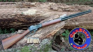 getlinkyoutube.com-Shooting the New Marlin Model 1895 Cowboy 45-70 Lever-Action Rifle - Gunblast.com