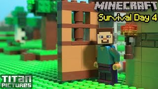 getlinkyoutube.com-Lego Minecraft Survival 4