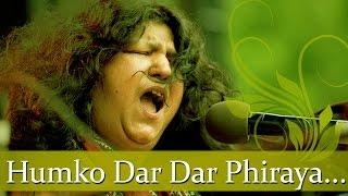 Abida Parveen Sufi Hits - Humko Dar Dar Phiraya - Pakistani Superhit Sufi Songs