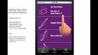 getlinkyoutube.com-Piping Offset Calculator Set Pipe Size and Radius Tutorial