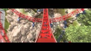 getlinkyoutube.com-Velocity || Intamin Rocket Coaster || Nolimits 2