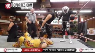 Mosco X-Fly, Yakuza y Wild Liger vs. Destructor Jr Discovery Hijo del Pantera Lucha Libre Total