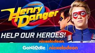 Henry Danger: Help Our Heroes | Nickelodeon | GoNoodle
