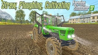 getlinkyoutube.com-Straw, Ploughing, Cultivating in Old Streams 17
