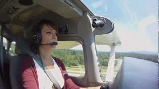 getlinkyoutube.com-Hanne's Private Pilot, solo cross country, part 2