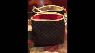 getlinkyoutube.com-Louis Vuitton Delightful MM. New vs Old Models